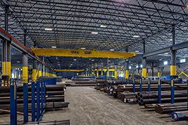 Overhead Crane and distribution facility